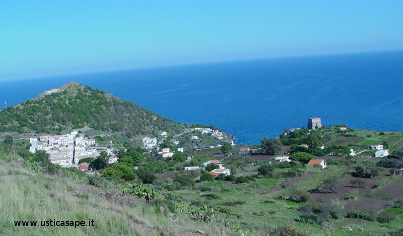 Panorama dal Monte guardia dei turch
