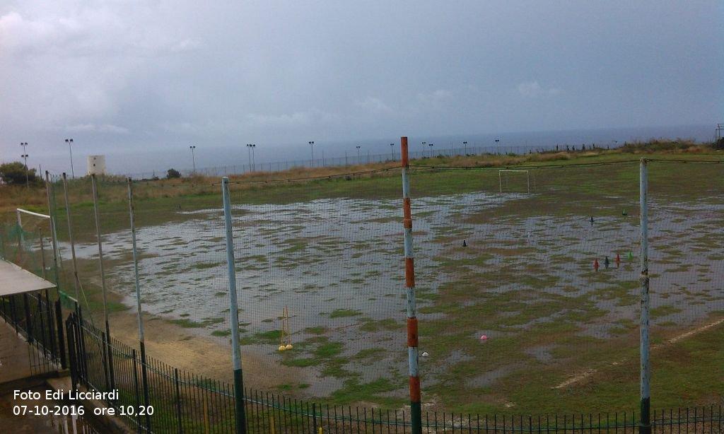 Campo si Calcio o piscina?