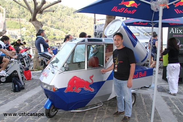La red bull sponsor della Ustica dreams