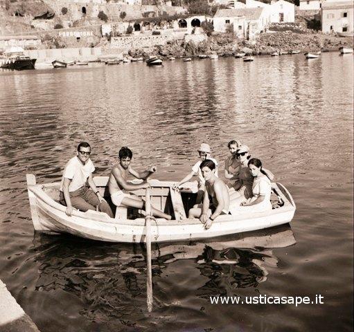 Gita in barca a remi