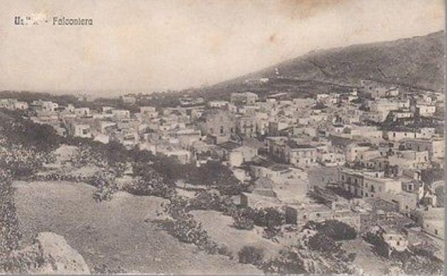 Vecchia cartolina di Ustica