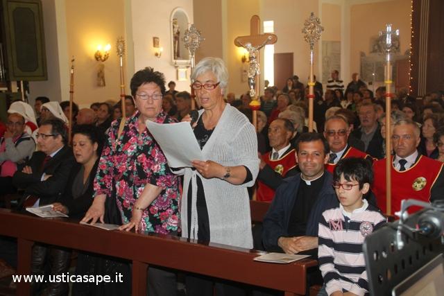 Messa solenne - letture in onore di San Bartolomeo
