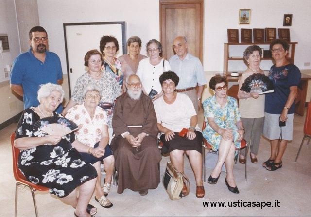 Delegazione usticese incontra Padre Carmelo