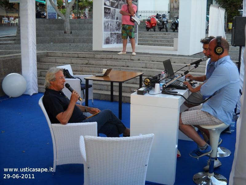 51^ edizione RIAS Ustica 2011 – intervista assessore Porretto