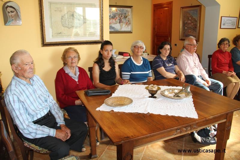 Riuniti in casa Aldo Caserta -Maggio 2012