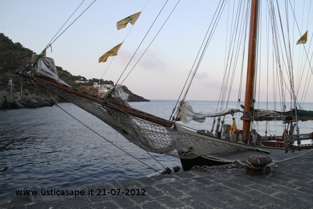 Barca Legambiente ad Ustica - 21-07-2012