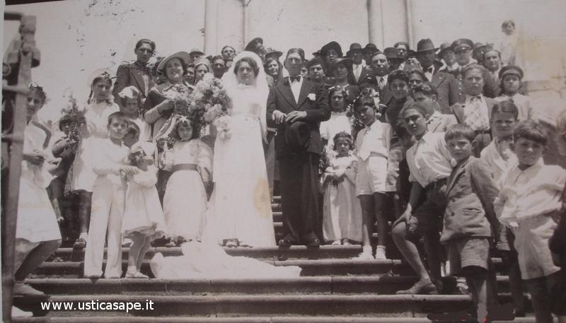 Matrimonio Flora Caserta e Francesco Bertucci 1939