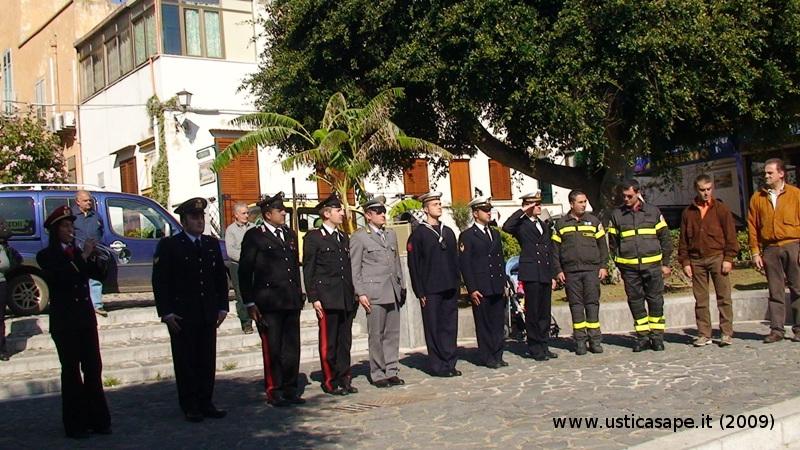 Commemorazione dei Caduti in Guerra,delle Forze Armate e dell'Unità Nazionale