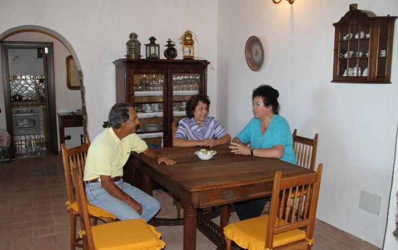 Visita di cortesia a casa Natale ad Ustica