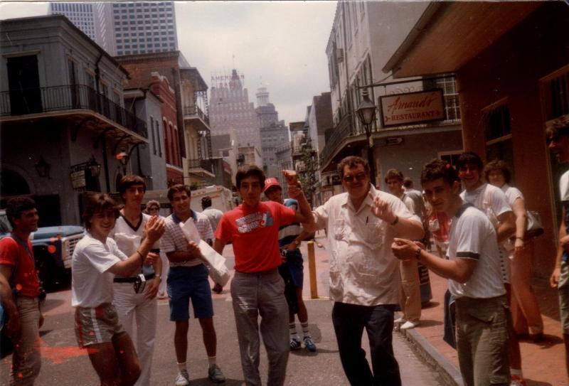 I ragazzi di Ustica baseball a New Orleans