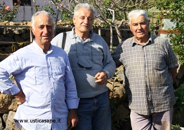tre attivi pensionati.