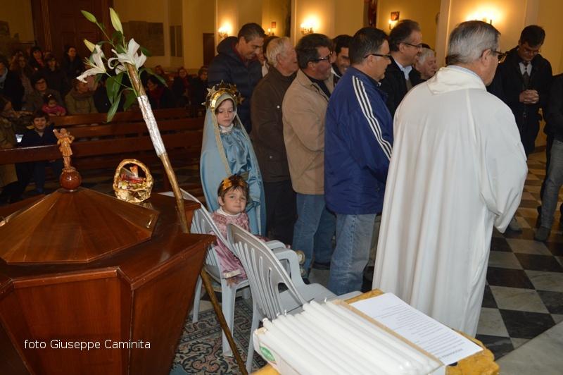 Ustica,Funzione religiosa San Giuseppe 2017