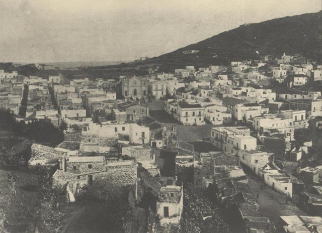 Ustica, panorama visto dalla torre Santa Maria 1930