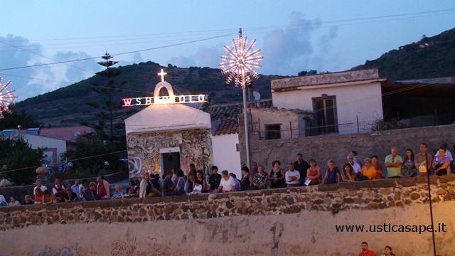 Ustica San Bartolicchio, festa paesana