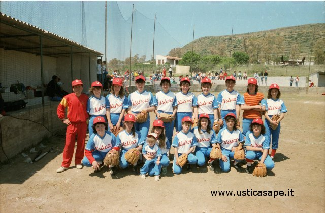 squadra Ustica softeball