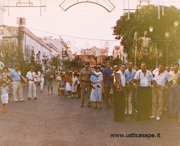 Ustica, Processione San Bartolomeo
