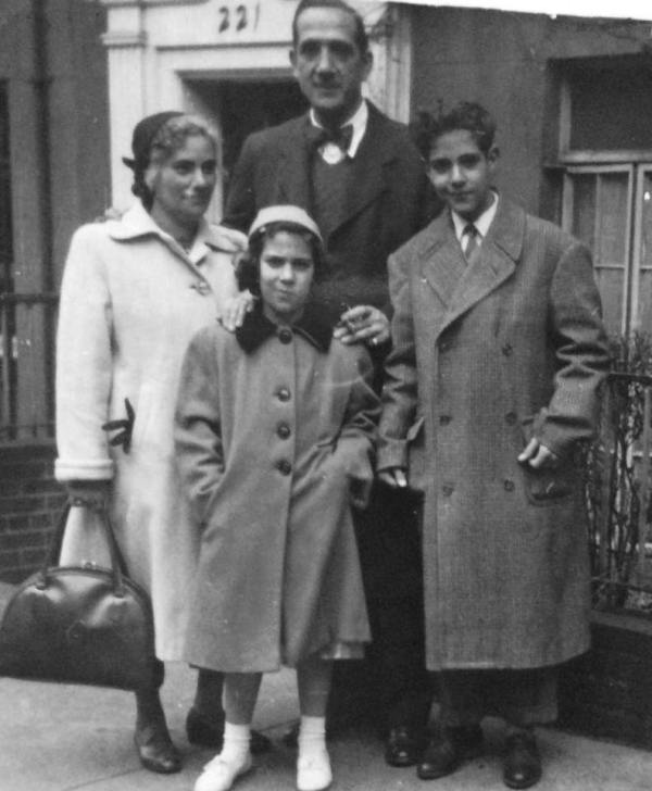 Famiglia Tranchina di Ustica ora in California