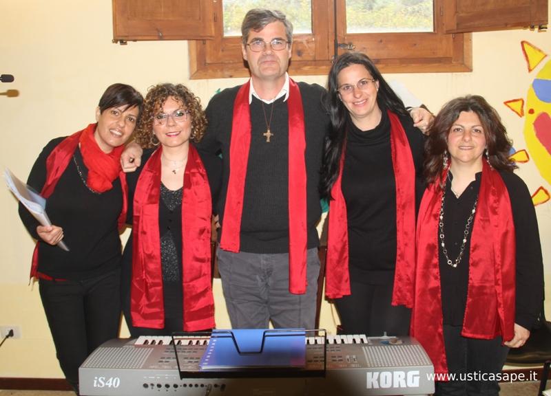 Ragazzi del coro della Parrocchia San Ferdinando Re di Ustica