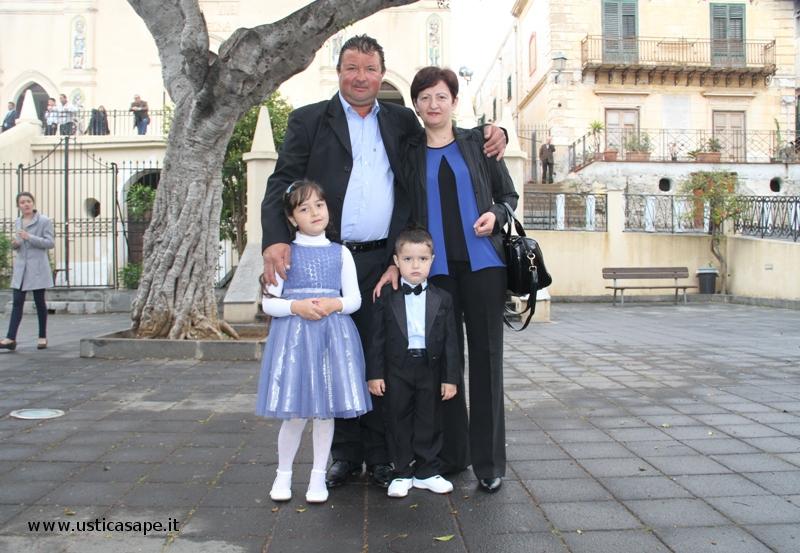 Mario e la sua famiglia