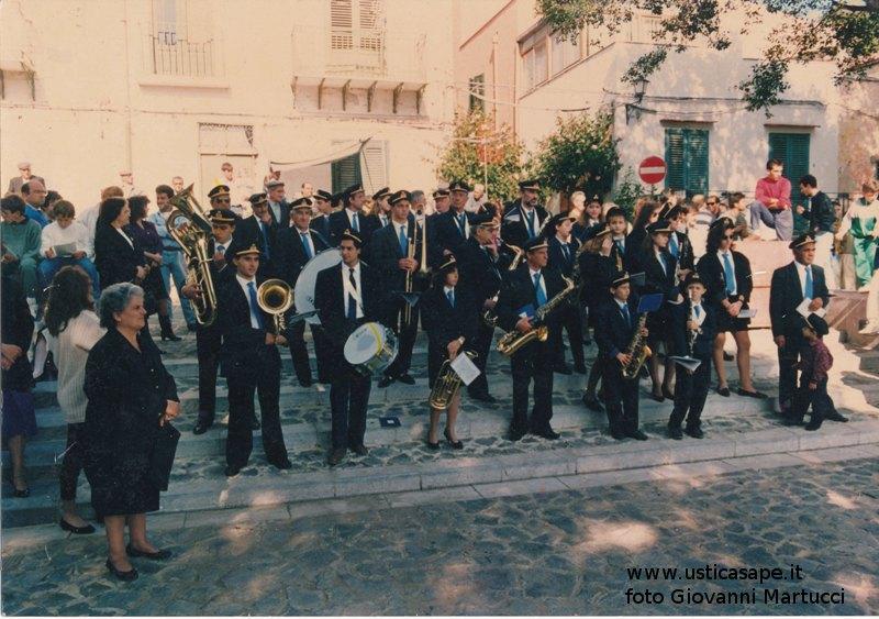 Banda musicale Usticese - quando le festività religiose e paesane venivano onorate