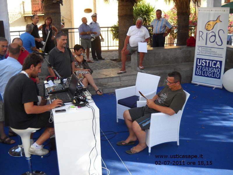 Paolo Belli ad Ustica