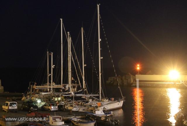 Cala Santa Maria di sera