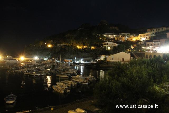 Cala Santa Maria di notte