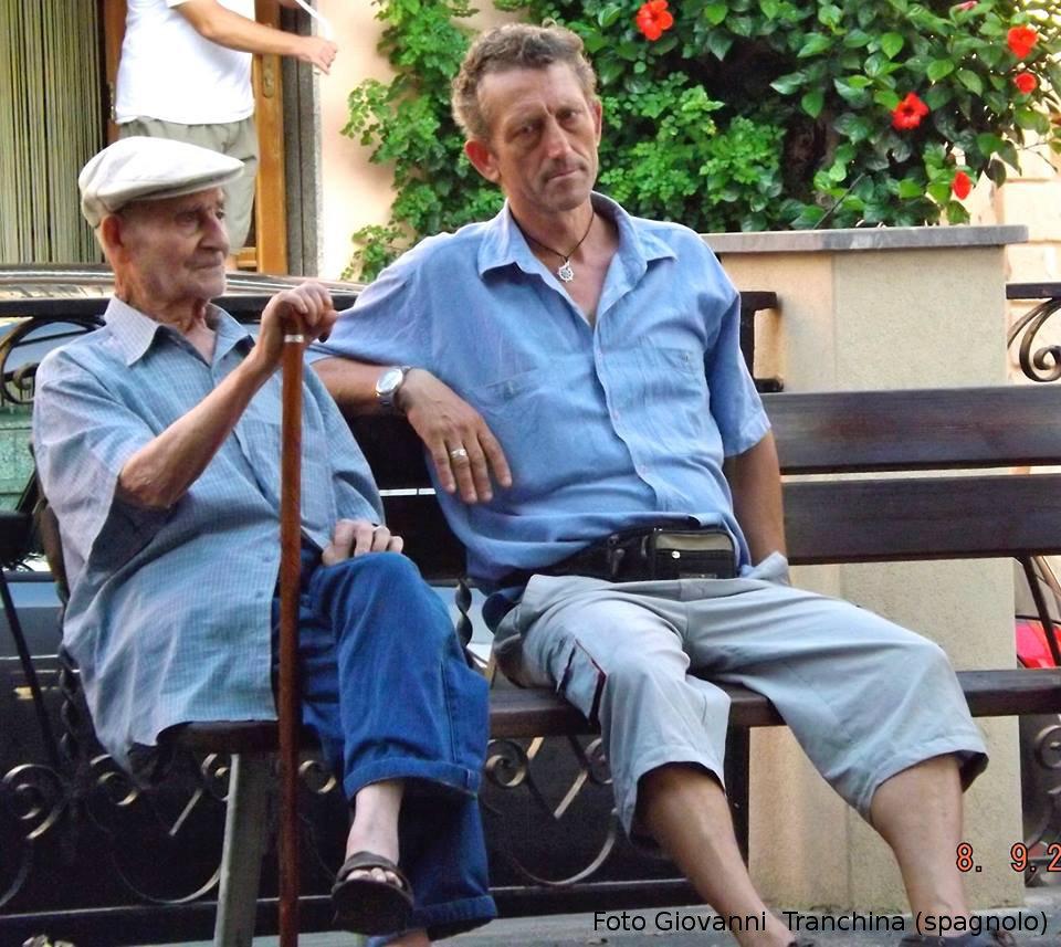 Nonno Pasqualino e Pino Pellerito