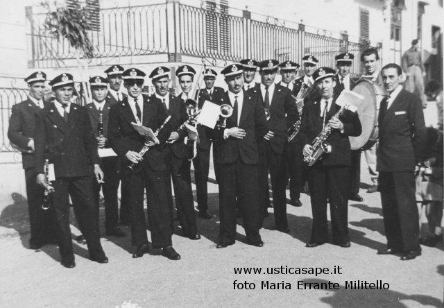 Vecchia Banda Musicale di Ustica 1958