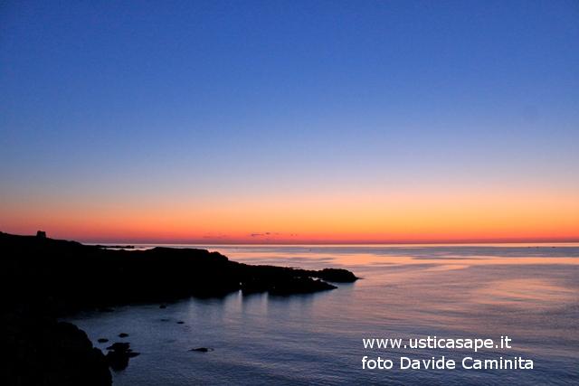 Ustica tramonto