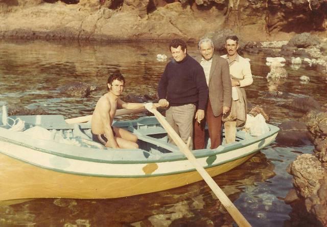 Giro in barca - Aprile 1972