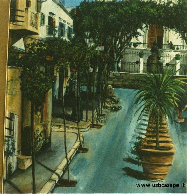 Ustica, uno dei tanti cambiamenti della piazza