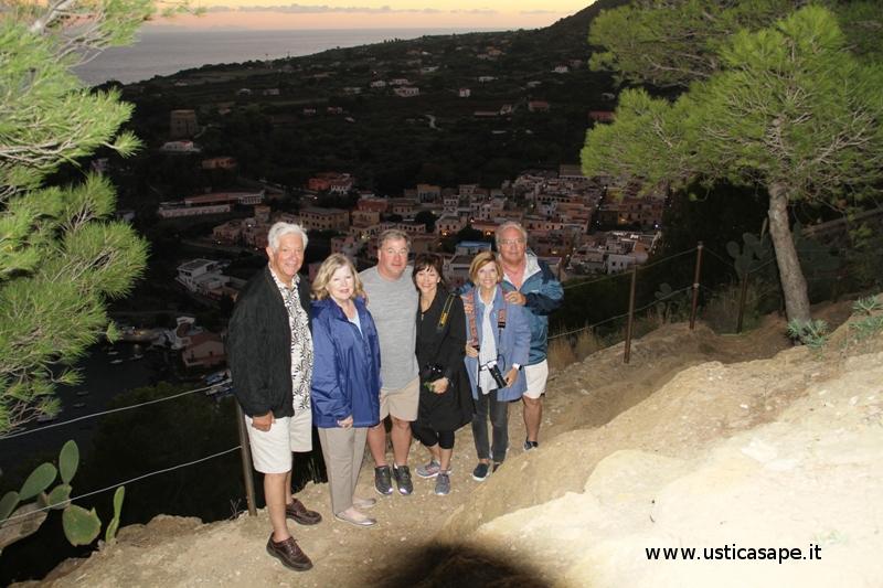 Italo Americani ad Ustica in cerca dei loro antenati