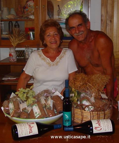 Maria Bertucci Compagno porta in America le lenticchie di Ustica