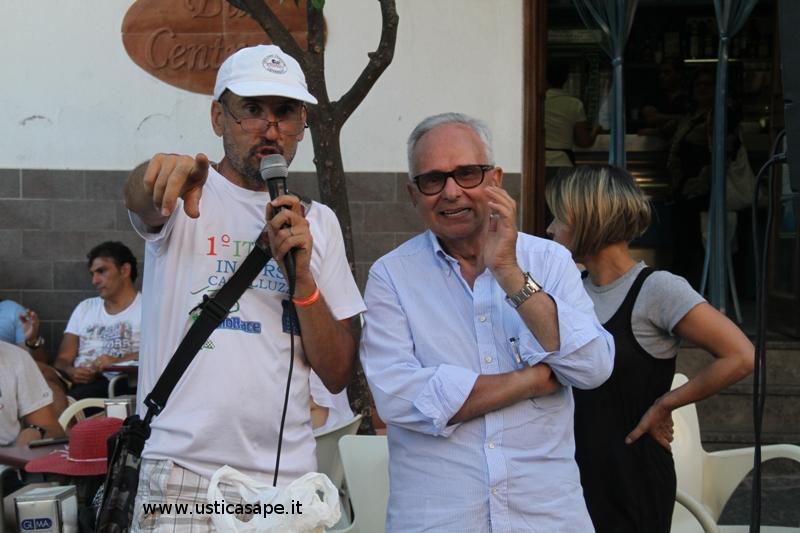 Mimmo Piombo e il Prof. Claudio Iovane soddisfatti dall'esito della gara