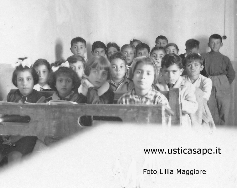 Ustica, compagni di scuola