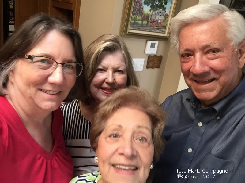 Incontro famiglie Bertucci a New Orleans per programmare viaggio ad Ustica