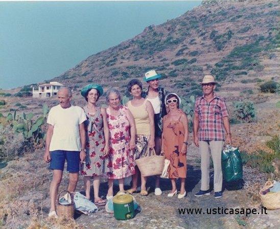 Ustica, scampagnata ottobre 1987