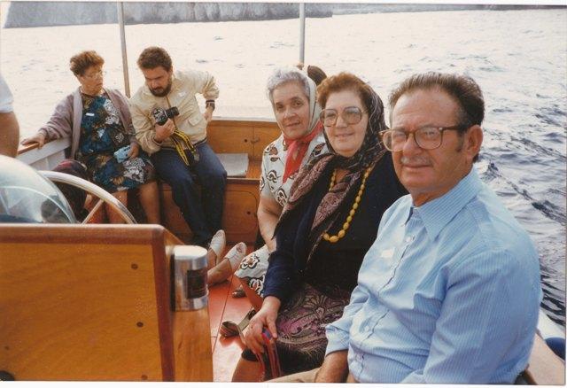 Anziani di Ustica in gita
