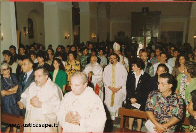 Ustica Messa solenne  celebrata dal Vescovo