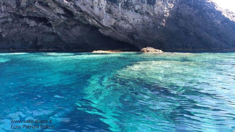 la trasparenza del mare di Ustica - foto da screesaver...