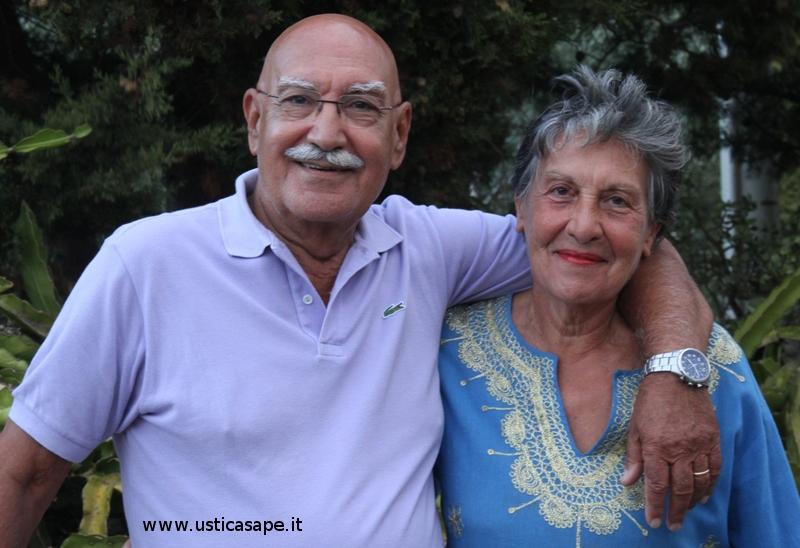 Bella espressione di una coppia felice