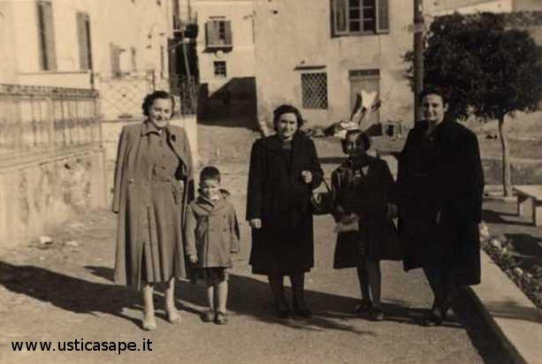 Ustica, foto dall'album di famiglia Zoda - Maggiore