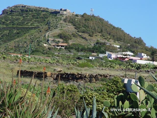 Ustica, Falconiera vista dalla zona faraglioni