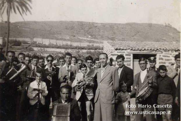 Ustica, banda musicale 1946