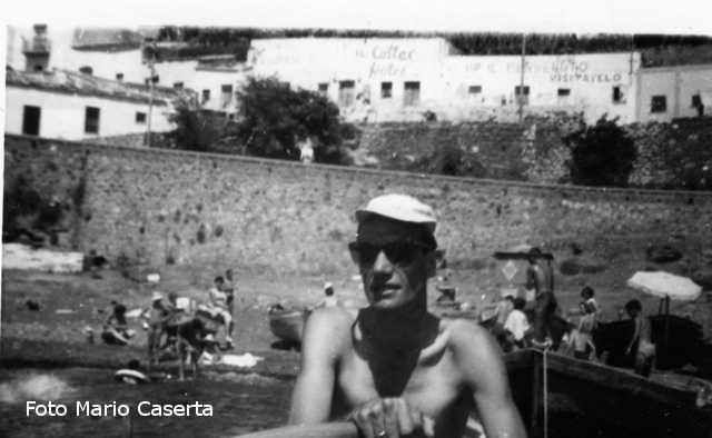 Ustica, Mario Caserta rientra dopo un giro in barca