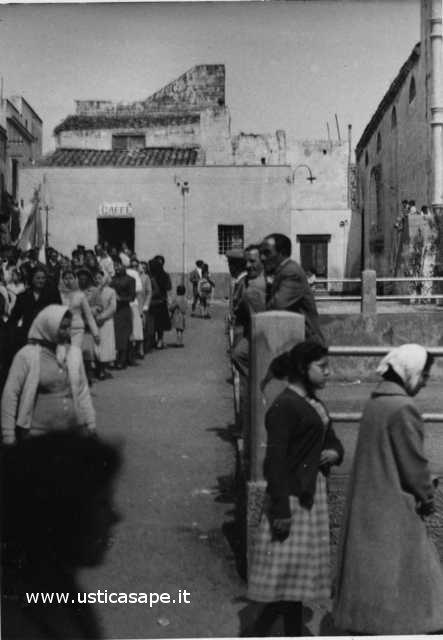 Ustica, processione
