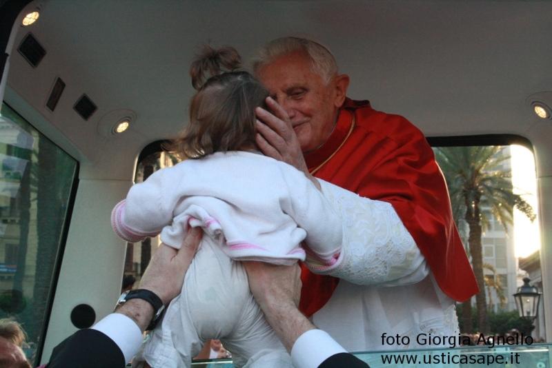 Maria Zoe Palermo incontra il Papa