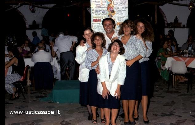 Ustica, festeggiamenti al Faraglione