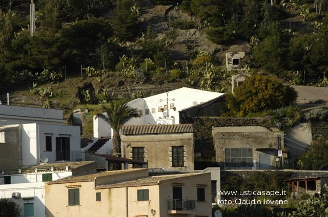 Ustica, zona Calvario
